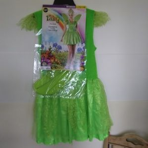 Fairy 2 Piece Costume Womens Size Large